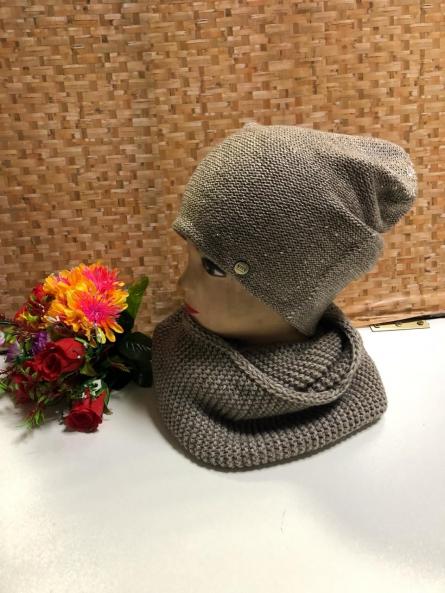Шапка и шарф - KJVK29