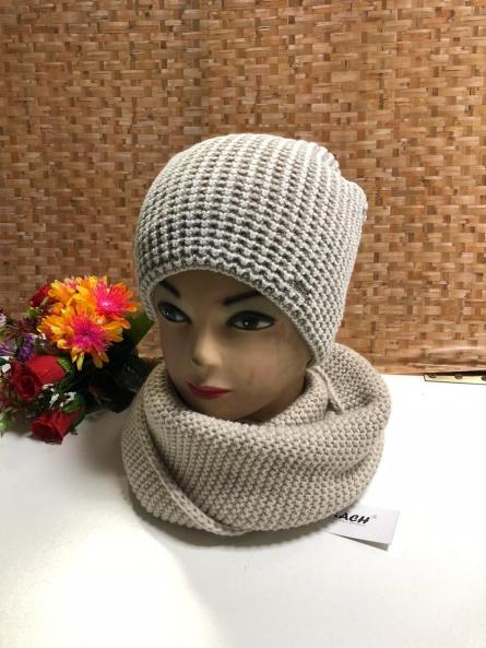 Шапка и шарф - KJV1J2